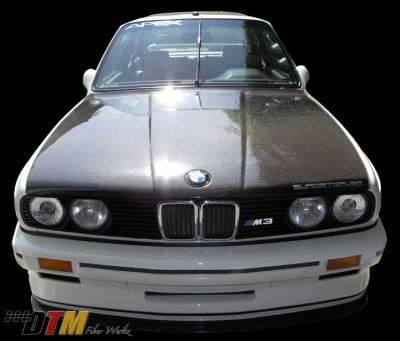 DTM Fiberwerkz - BMW 3 Series DTM Fiberwerkz OEM Style Hood