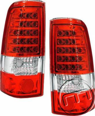 Eurostar - Red Clear LED Taillights