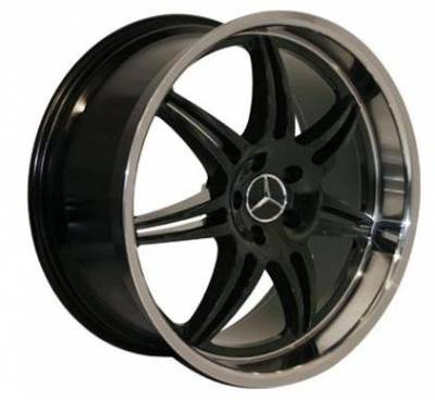 Euro - 20 Inch BlackZ - 4 Wheel Set