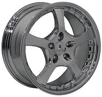 Euro - 18 Inch Z5 Chrome - 4 Wheel Set