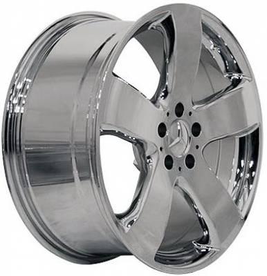 EuroT - 16 Star Chrome - 4 Wheel Set