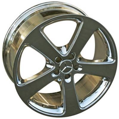 Euro - 20 Inch FX5 - 4 Wheel Set