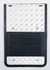 Deflecta-Shield - Ford Superduty Deflecta-Shield 930 Series Splash Guard - Diamond Design - 930F-99