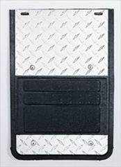 Deflecta-Shield - GMC Sierra Deflecta-Shield 930 Series Splash Guard - Diamond Design - 930F-99