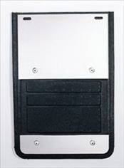 Deflecta-Shield - Dodge Ram Deflecta-Shield 930 Series Splash Guard - Extruded - EX-930DG-02
