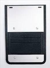 Deflecta-Shield - GMC Sierra Deflecta-Shield 930 Series Splash Guard - Extruded - EX-930K