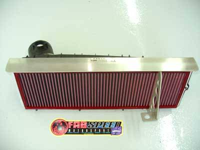 FabSpeed - High Performance Air Intake System with BMC Air Filter