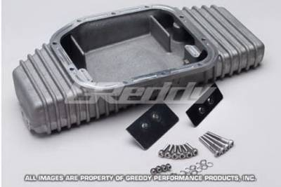 Greddy - Nissan Silvia Greddy Large Oil Pan - Front - 13525901