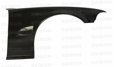 Seibon - BMW 3 Series 2DR Seibon OEM Style Carbon Fiber Fenders - FF9298BMWE362D