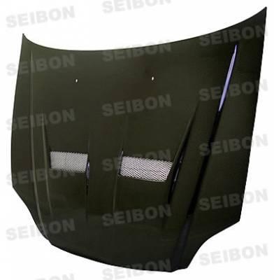 Seibon - Honda Civic Seibon WW Style Carbon Fiber Front Lip - FL0103HDCV-WW