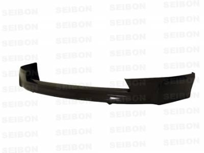Seibon - Honda Civic 4DR Seibon MG Style Carbon Fiber Front Lip - FL0607HDCV4D-MG