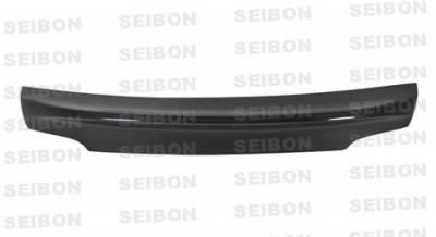Seibon - BMW 1 Series Seibon TW Style Carbon Fiber Front Lip - FL0809BMWE822D-TW