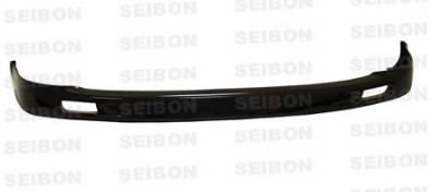 Seibon - Honda Civic 2DR Seibon MG Style Carbon Fiber Front Lip - FL9295HDCV2D-MG