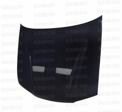 Seibon - Honda Accord Seibon WW Style Carbon Fiber Front Lip - FL9697HDAC-WW