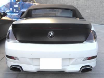 DTM Fiberwerkz - BMW 6 Series DTM Fiberwerkz ACS Style Rear Apron - E63/E64 ACS