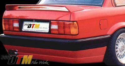 DTM Fiberwerkz - BMW 3 Series DTM Fiberwerkz BRYTN Style Rear Apron - E30-BRYTN-ST