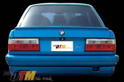 DTM Fiberwerkz - BMW 3 Series DTM Fiberwerkz Hartge Style Rear Apron - E30-HARTGE-S