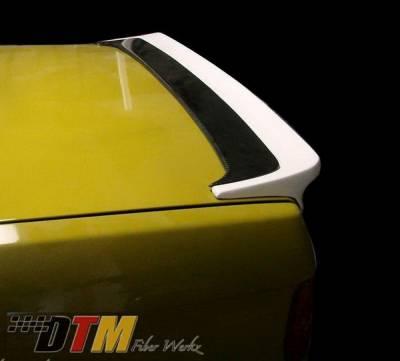 DTM Fiberwerkz - BMW 3 Series DTM Fiberwerkz Mtech I Style Rear Spoiler - E30-MTECH-I
