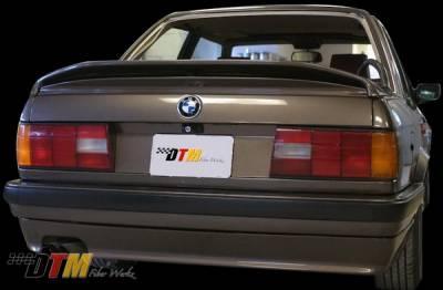 DTM Fiberwerkz - BMW 3 Series DTM Fiberwerkz Mtech II Style Rear Apron - E30-MTECH-II
