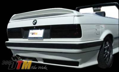 DTM Fiberwerkz - BMW 3 Series DTM Fiberwerkz RG Infinity Style Rear Apron - E30-US-RG-IN