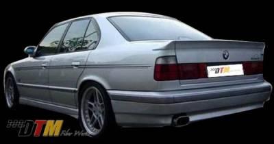 DTM Fiberwerkz - BMW 5 Series DTM Fiberwerkz ACS Style Rear Apron - E34ACSREAR