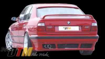 DTM Fiberwerkz - BMW 5 Series DTM Fiberwerkz RG Style Rear Apron - E34RGREAR