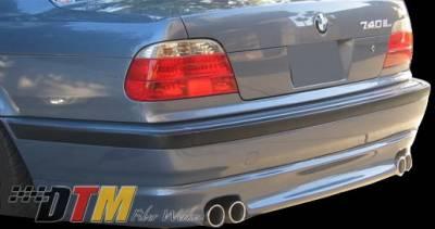 DTM Fiberwerkz - BMW 7 Series DTM Fiberwerkz ACS Style Rear Apron - E38-ACS-STYL
