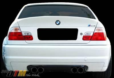 DTM Fiberwerkz - BMW 3 Series DTM Fiberwerkz CSL Style Rear Diffuser - E46CSLDiffus
