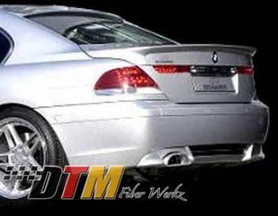 DTM Fiberwerkz - BMW 7 Series DTM Fiberwerkz ACS Style Rear Apron - E6502ACS