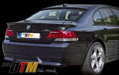 DTM Fiberwerkz - BMW 7 Series DTM Fiberwerkz ACS Style Rear Apron - E6505ACSRear