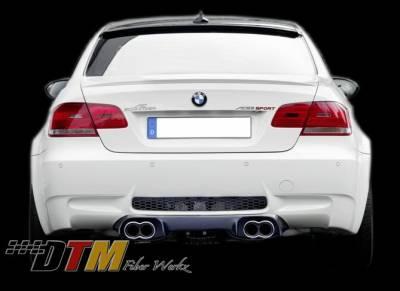 DTM Fiberwerkz - BMW 3 Series DTM Fiberwerkz ACS Style Rear Diffuser - E9XACSDiffus