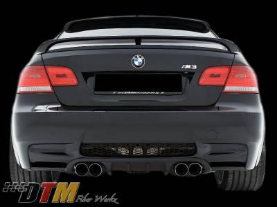 DTM Fiberwerkz - BMW 3 Series DTM Fiberwerkz HM Style rear Diffuser - E9XHMDiffus