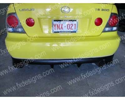 FX Design - Lexus IS FX Design Rear Valance - FX-16EBCH