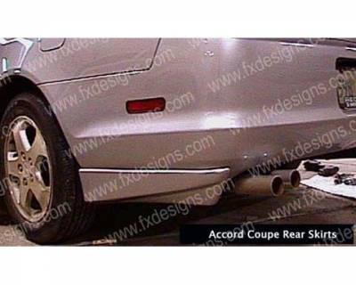 FX Designs - Honda Accord FX Design Rear Skirts - FX-703