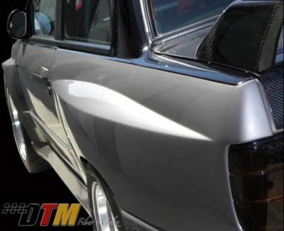 DTM Fiberwerkz - BMW 3 Series DTM Fiberwerkz Evo R Style Widebody Rear Fenders - E30 EVO R R