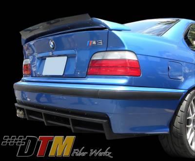 DTM Fiberwerkz - BMW 3 Series DTM Fiberwerkz M3 DTM Rear Diffuser - E36 M3 DTM R