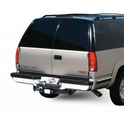 Fey - GMC C1500 Pickup Fey Perfect Match Rear Bumper - 31001