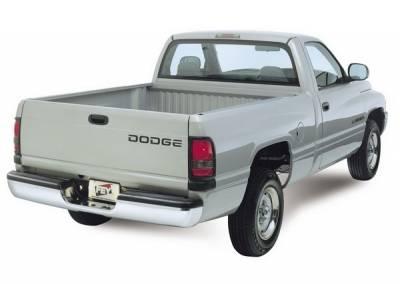 Fey - Dodge Ram Fey Perfect Match Rear Bumper - 31005