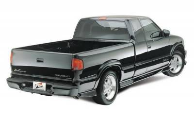 Fey - Chevrolet S10 Fey Perfect Match Rear Bumper - 32007