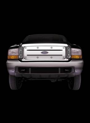 Putco - GMC Sierra Putco White-Out Grille - 25102