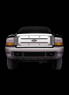 Putco - Ford F250 Superduty Putco White-Out Grille - 26105