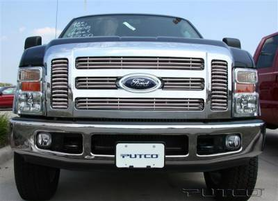 Putco - Ford F250 Superduty Putco Virtual Tubular Grille - 31158