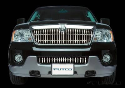 Putco - Lincoln Navigator Putco Virtual Tubular Bumper Insert Grille - 32140