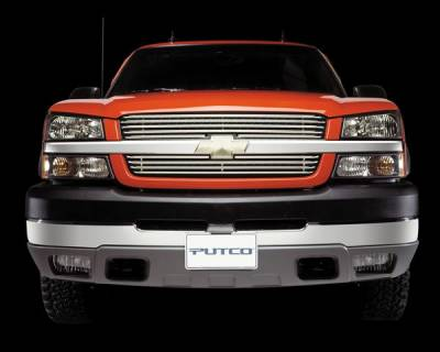 Putco - Ford F150 Putco Virtual Tubular Bar Bumper Insert Grille - 37143