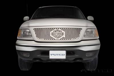 Putco - Ford F150 Putco Punch Grille Insert with Bar & Shield - 52104