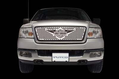 Putco - Ford F150 Putco Punch Grille Insert with Wings Logo - 56104
