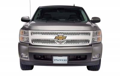 Putco - Chevrolet Silverado Putco Punch Grille Insert with Wings Logo - 56189