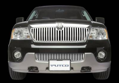 Putco - Nissan Titan Putco Designer FX Main Vertical Bar Grille - 64134
