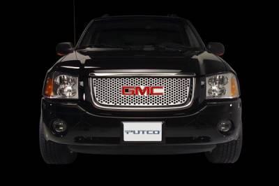 Putco - GMC Sierra Putco Designer FX Deluxe Punch Grille - 64308