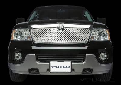 Putco - Lincoln Navigator Putco Designer FX Diamond Pattern Grille - 64702